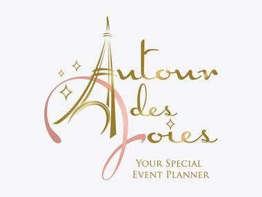 Logo Design - Autour des Joies
