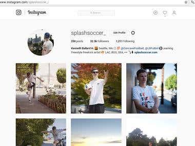 Instagram Followers / Management.