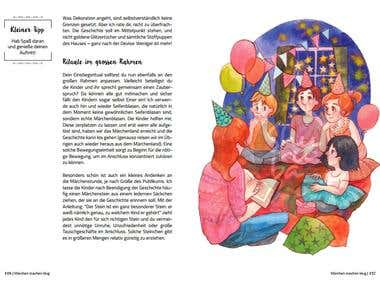 "Illustrated book ""Marchen machen Klug"""