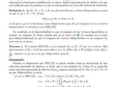 Transcripción de Textos Matemáticos Avanzados en LaTex