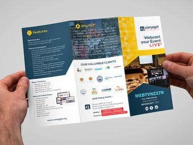 comjagat TECHNOLOGIES Trifold Brochure