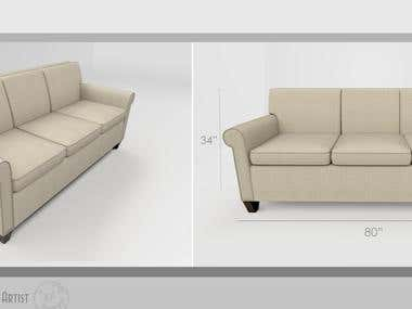 Couch Renders