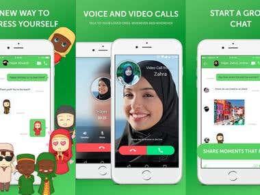 Emoji & Chat App
