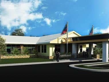 Quiriquire recreational center