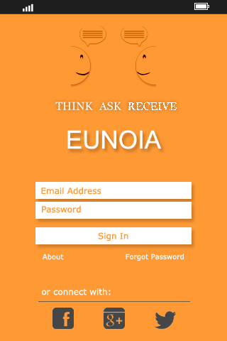 Eunoia (Spring, REST Webservices, Hibernate and Android )