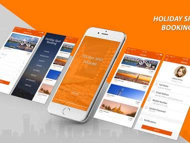 Hotel Booking App - Holiday spot Booking