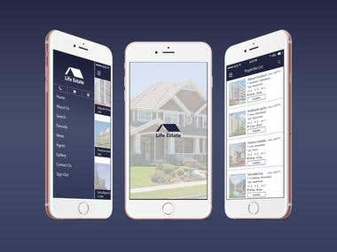 Real Estate App - Life Estate