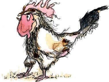 Farm Hen