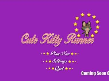2D Cat Runner Game