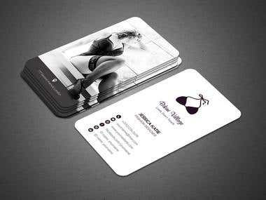 Lingerie Business Card