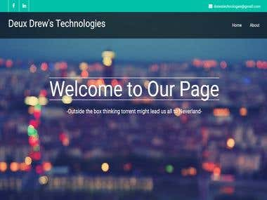 Our website www.deuxdrewstechnologies.com