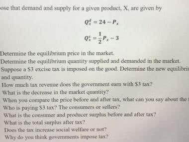 Economics and Statistics.