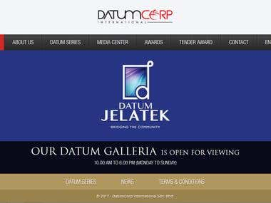 Datumcorp Sdn Bhd website
