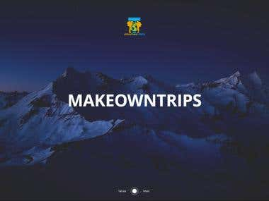 Travel sites / makeowntrips.com