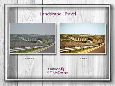 Landscapes. Travels
