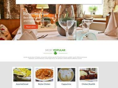 Curry Leave Website Design & Development