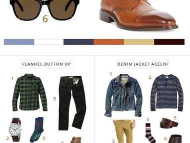 Men's Outfit Ecommerce site