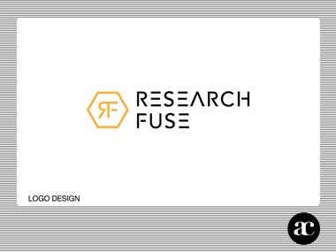 """Research Fuse"" Logo Design"