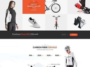 Vehicle Ecommerce Site