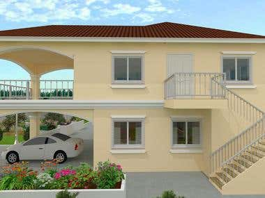 Two Storey building design