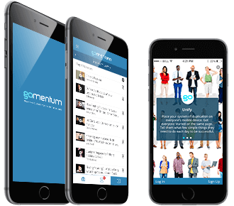 GoMomentum iOS app