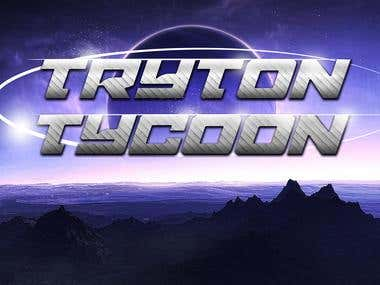 Tryton Tycoon Game Banner Design - Winning Entry
