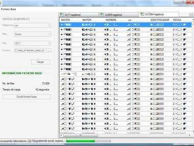 Windows application for Excel data splitter