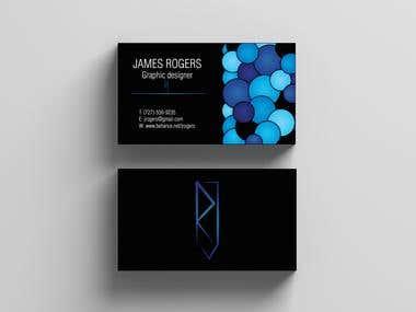 Visit cards design