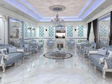 Design Reception room - Classic