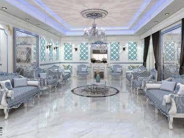 Design Reception room - Classic