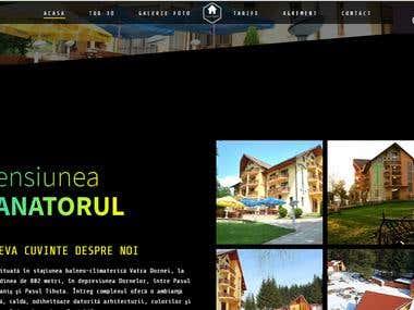 Pensiunea Vanatorul - Hotel WebSite