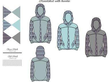 Outerwear Flats Using Adobe Photoshop & Adobe Illustrator