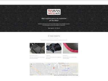 Simple Web Page for Local Business