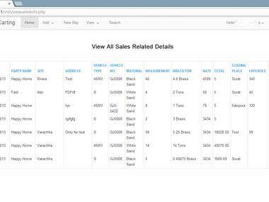 Chamunda Carting- Global PHP Billing Software