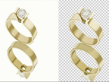 Jewelry product Transparent Background