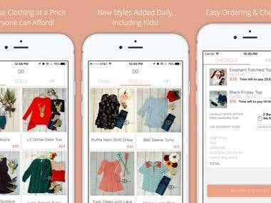 Shopping App - Discount Divas