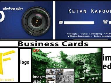 Image-editing.Logo design. compositing,business cards