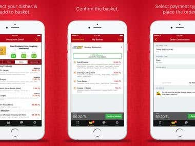 Food Ordering App - Yemeksepeti