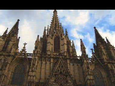 Barcelona's center / Tour edit.