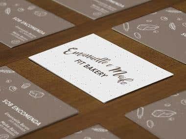 Identidade Visual e Cartão de Visita Emmanuelle Bakery