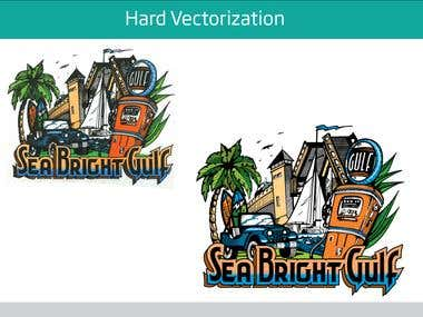 Logo and vectorization work