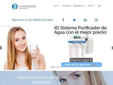 Diseño web y redacción de contenido Eurosmosis