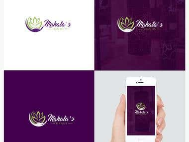 Logo design for a massage therapy practice