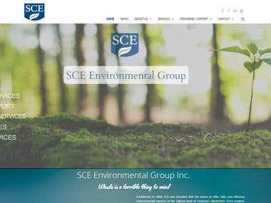 Corporate Website SCENV