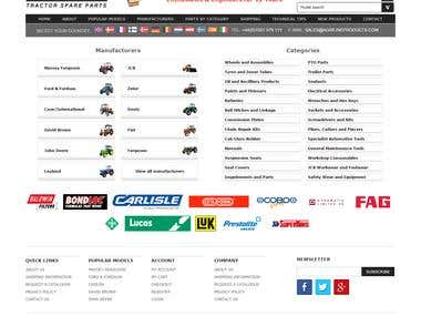 Tractor Spare Parts Online