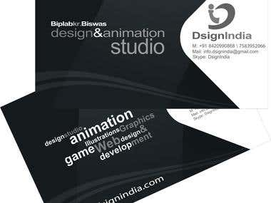Logo and personal visiting cards