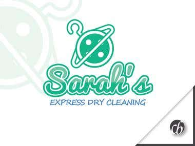Logo: Sarah's Express Dry Cleaning