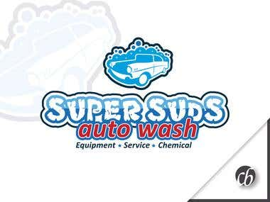 Logo: Super Suds Auto Wash