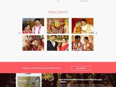 Codeigniter : Matrimony Website