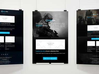 Mailchimp email tamplate design